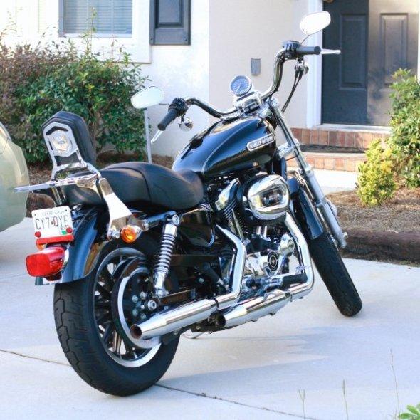 2008 Harley Davidson Sportster 1200 Low