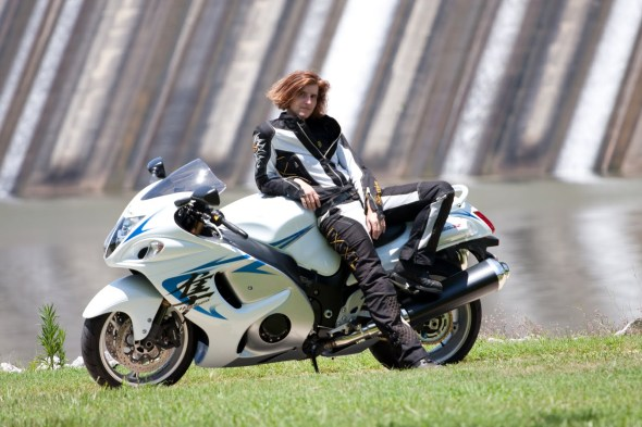 Miss Busa and her 'Busa