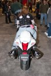 Suzuki Hayabusa (the rear view)