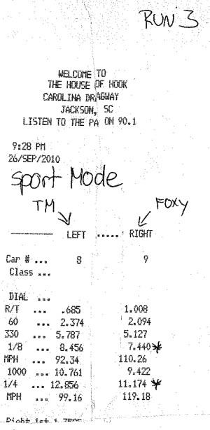 Run 3 (Sport Mode)