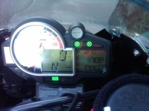 10K Odometer (S1000RR)