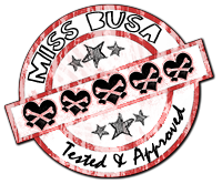Miss Busa's Stamp of Approval