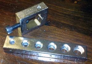 Safety Wiring Drill Jig