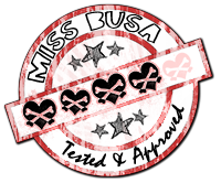 Miss Busa Stamp of Approval
